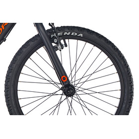 "ORBEA Grow 2 7V Kids 20"" Black-Jade-Green"